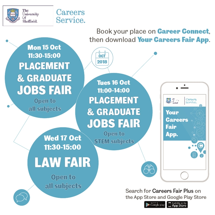 Placement & Graduate Jobs Fair for STEM subjects
