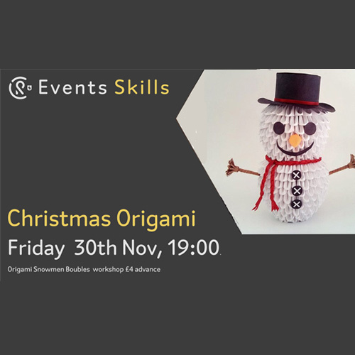CR Events: Christmas Origami Workshop