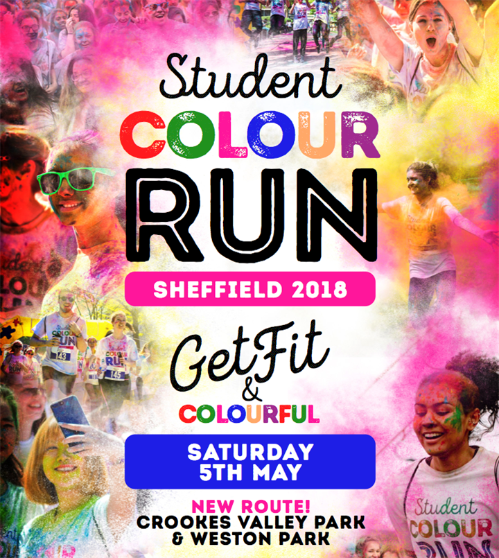 Student Colour Run Sheffield