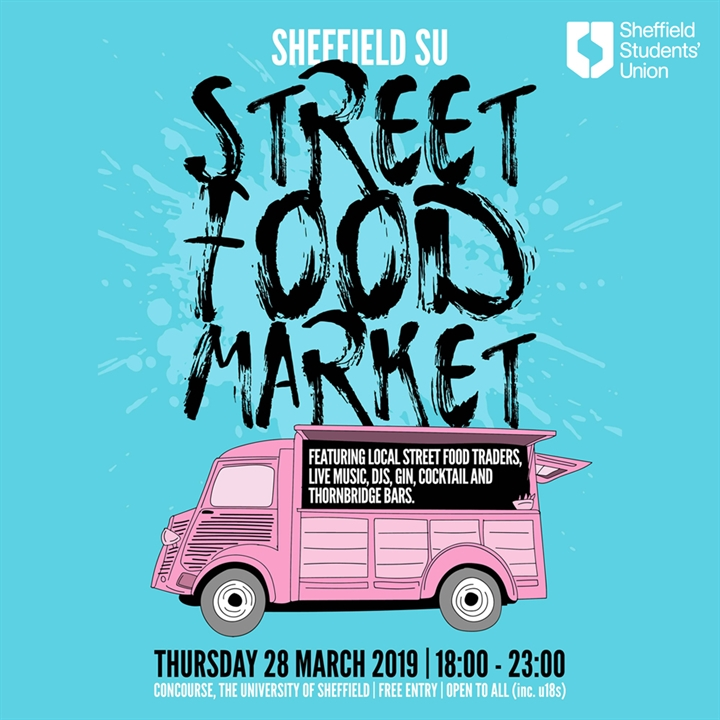Sheffield SU Street Food Market #01