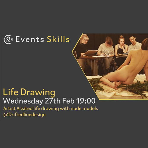 CR Events: Life Drawing
