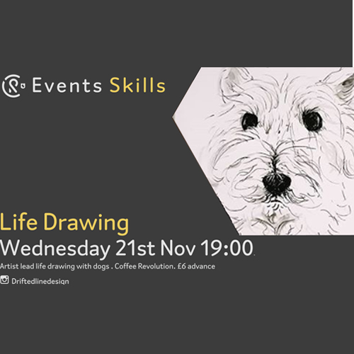 CR Events: Life Drawing with Dogs