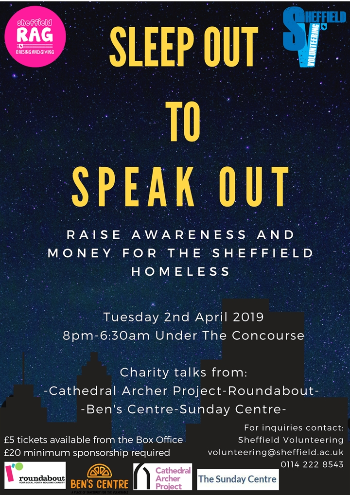 Sleep Out to Speak Out